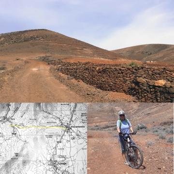 Mountainbiken auf Fuerteventura 4 - von Tiscamanita nach Toto auf der Tierra Roja