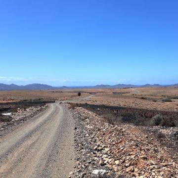 Mountainbiken auf Fuerteventura 5 - Pisten soweit das Auge reicht