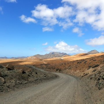 Mountainbiken auf Fuerteventura 6 - lass die Reifen rauchen